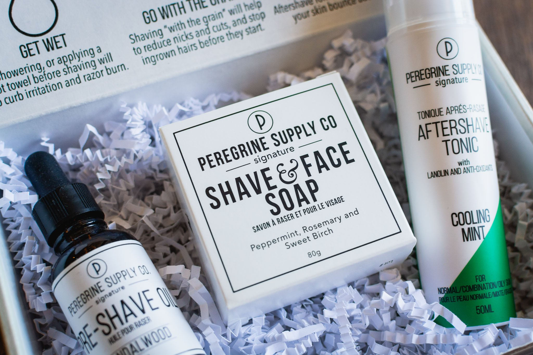 Shave Box Care Set by Peregrine Supply Co