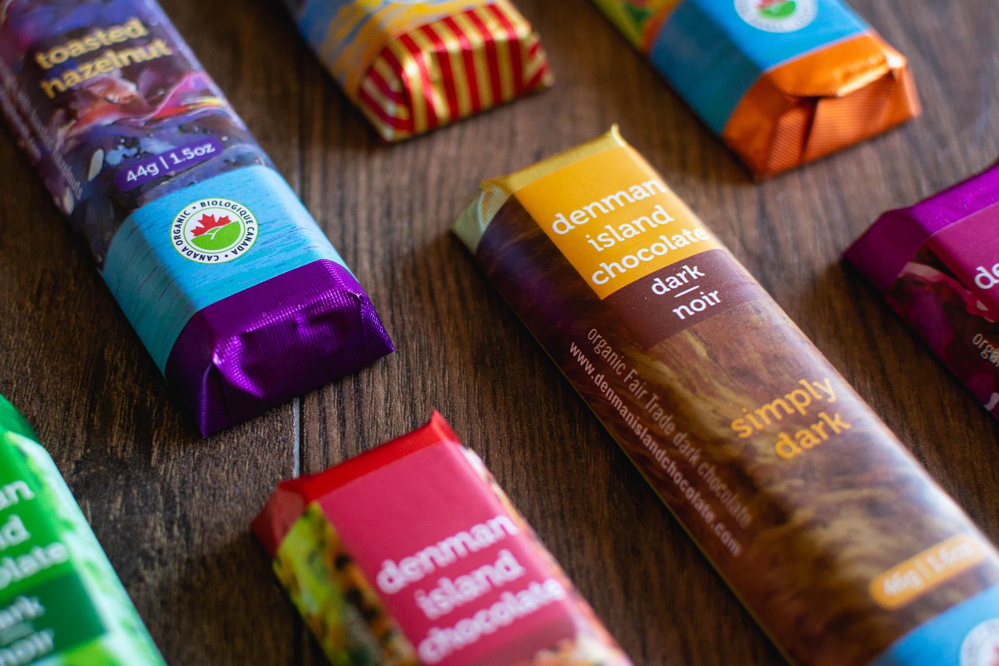 Simply Dark Chocolate Bar by Denman Island Chocolate
