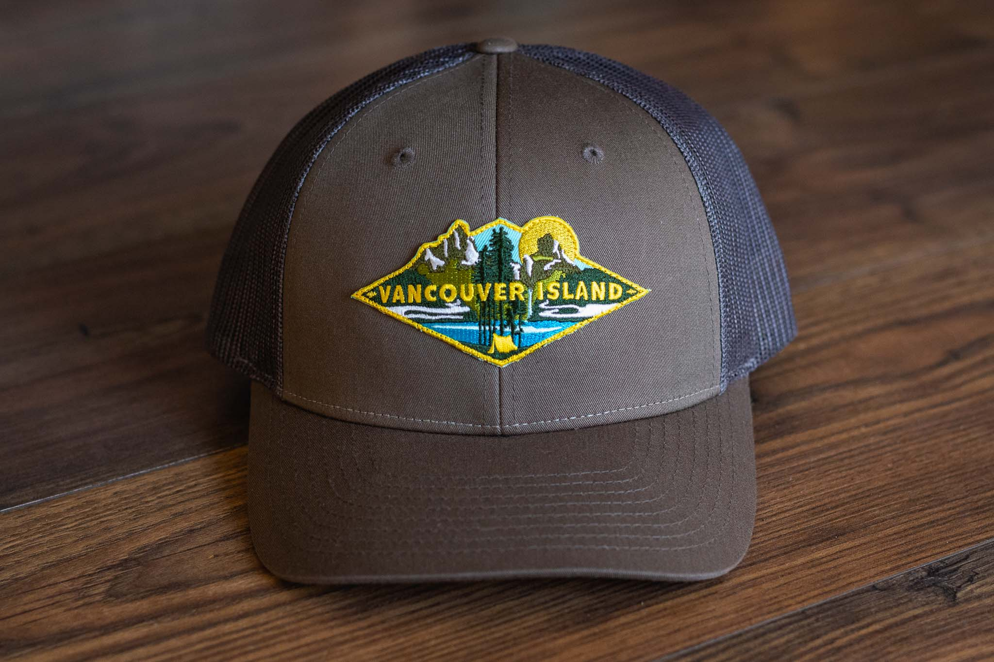 Camp Sight Trucker Hat by Bough and Antler