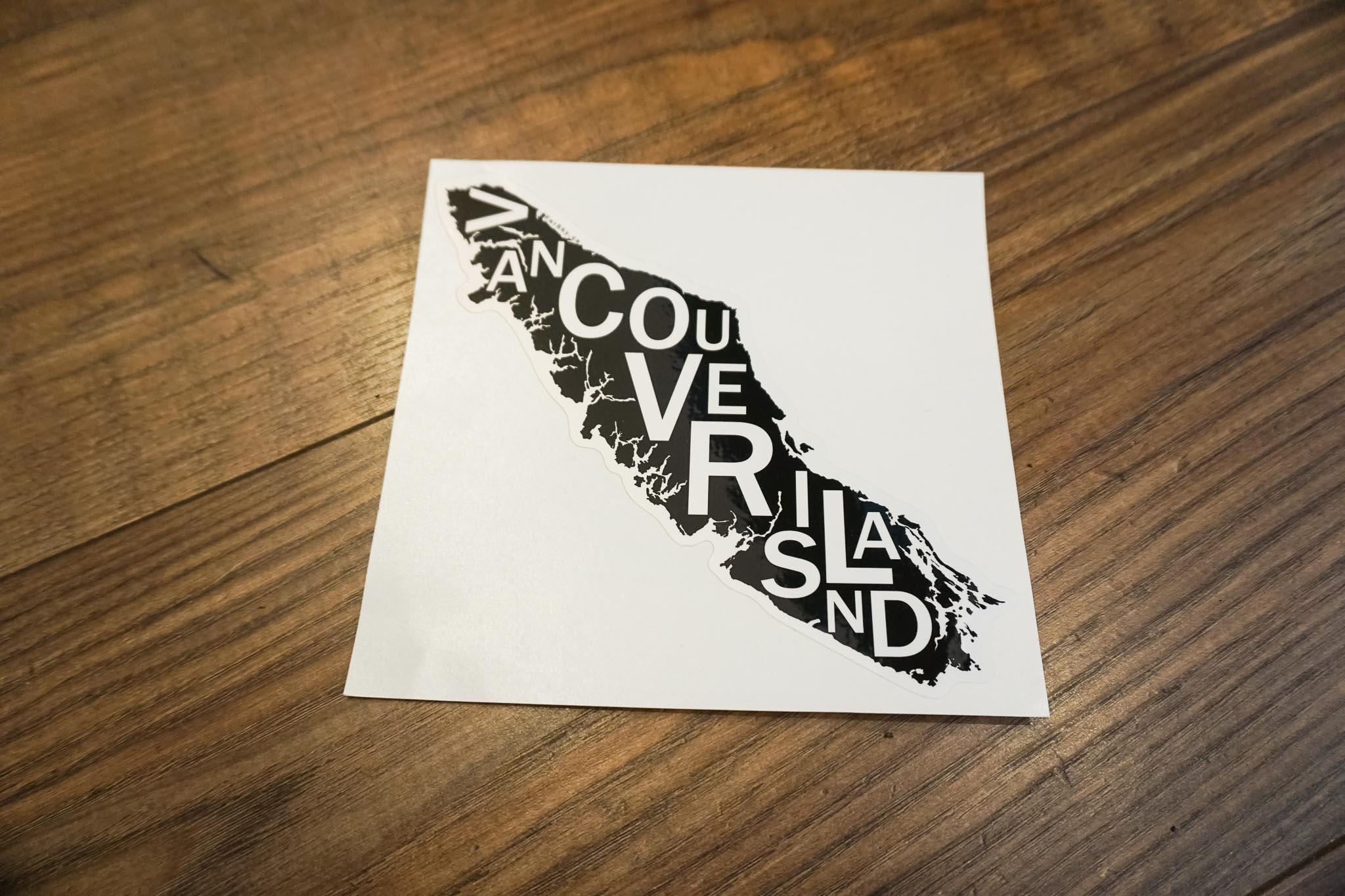 Vancouver Island Bumper Sticker