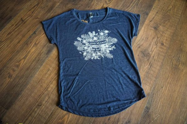 Kind, Calm and Safe Ladies Tee by Bough and Antler