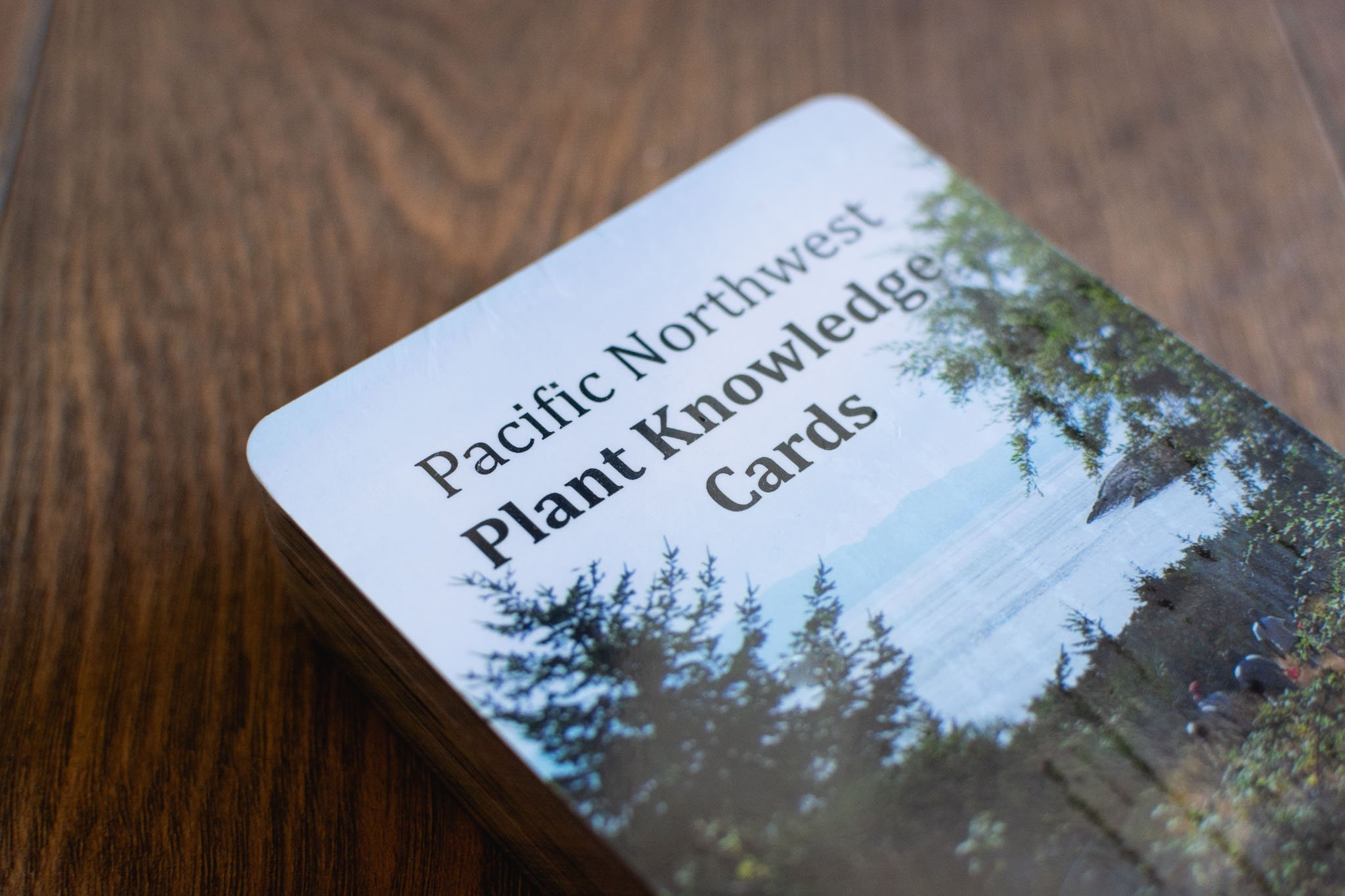 Pacific Northwest Plant Knowledge Cards by Strong Nations