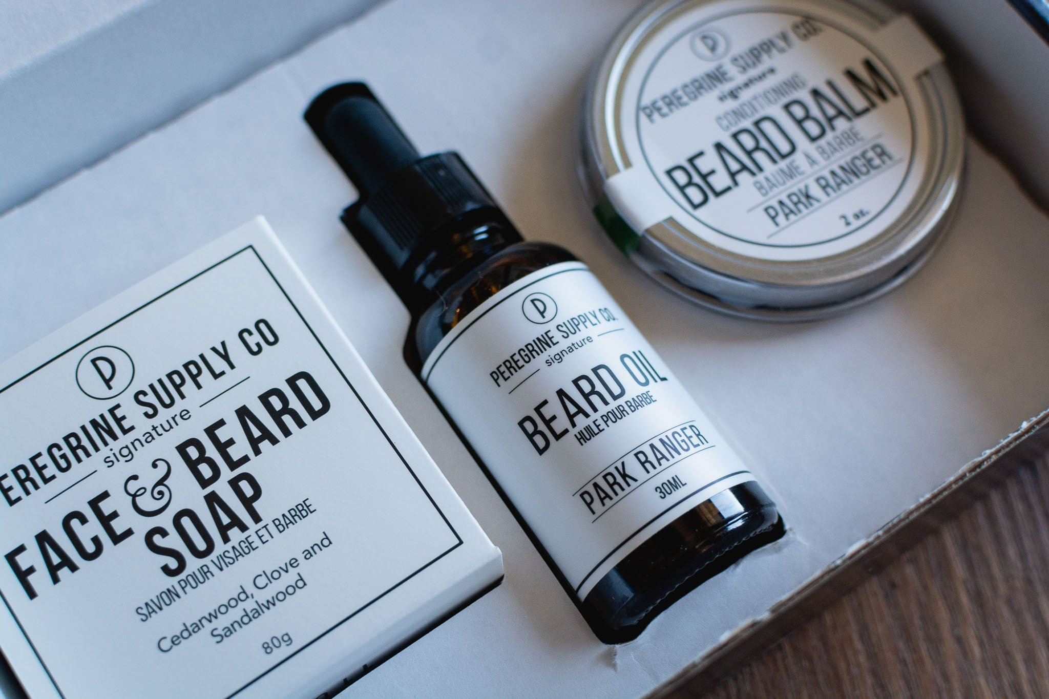 Beard Box Care Package by Peregrine Supply Co