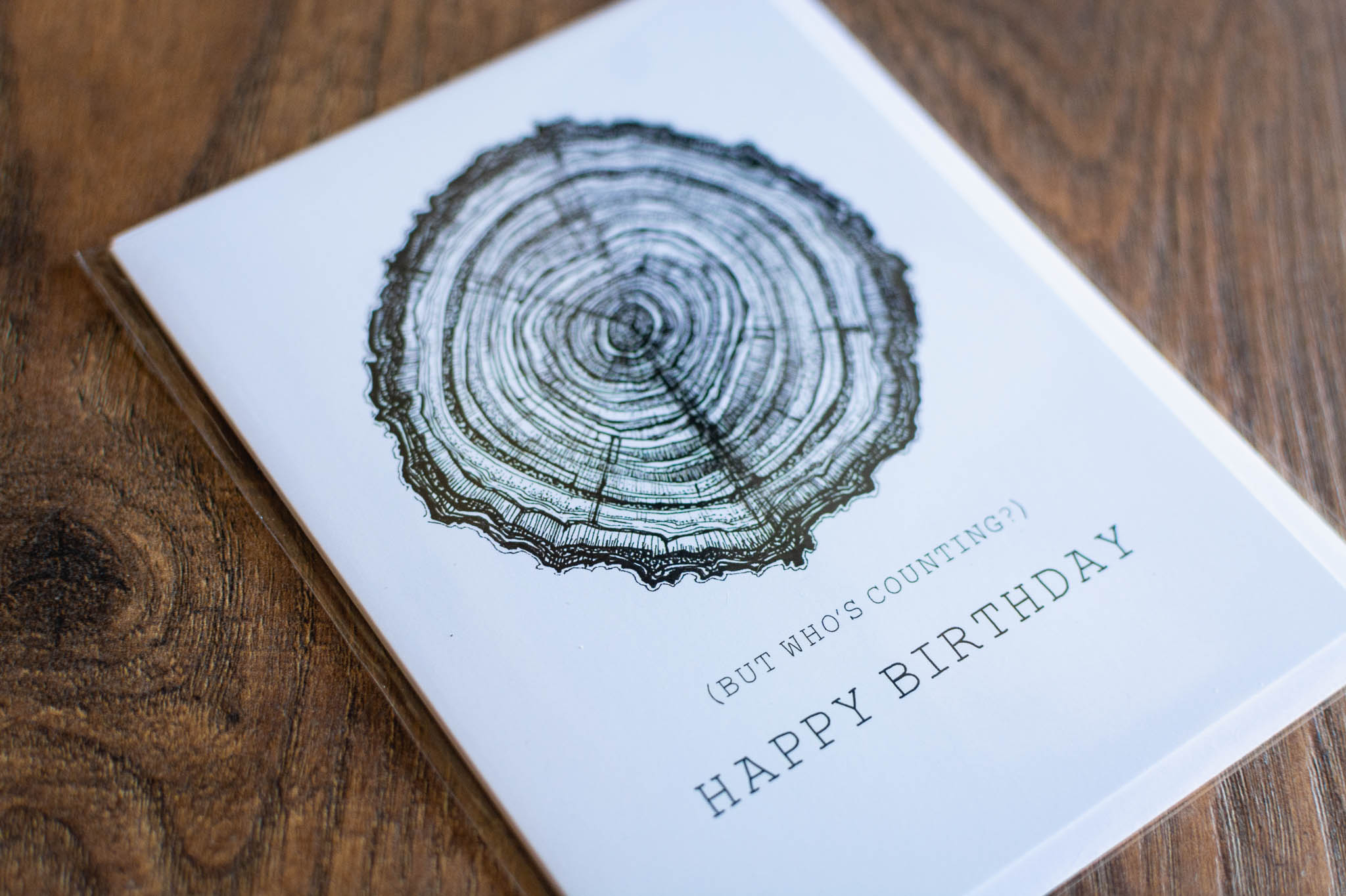"""""""Happy Birthday (But Who's Counting)"""" Greeting Card by Hello Yellow Canary"""