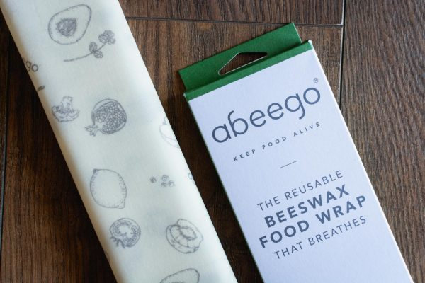 Breathable Beeswax Food Wraps by Abeego