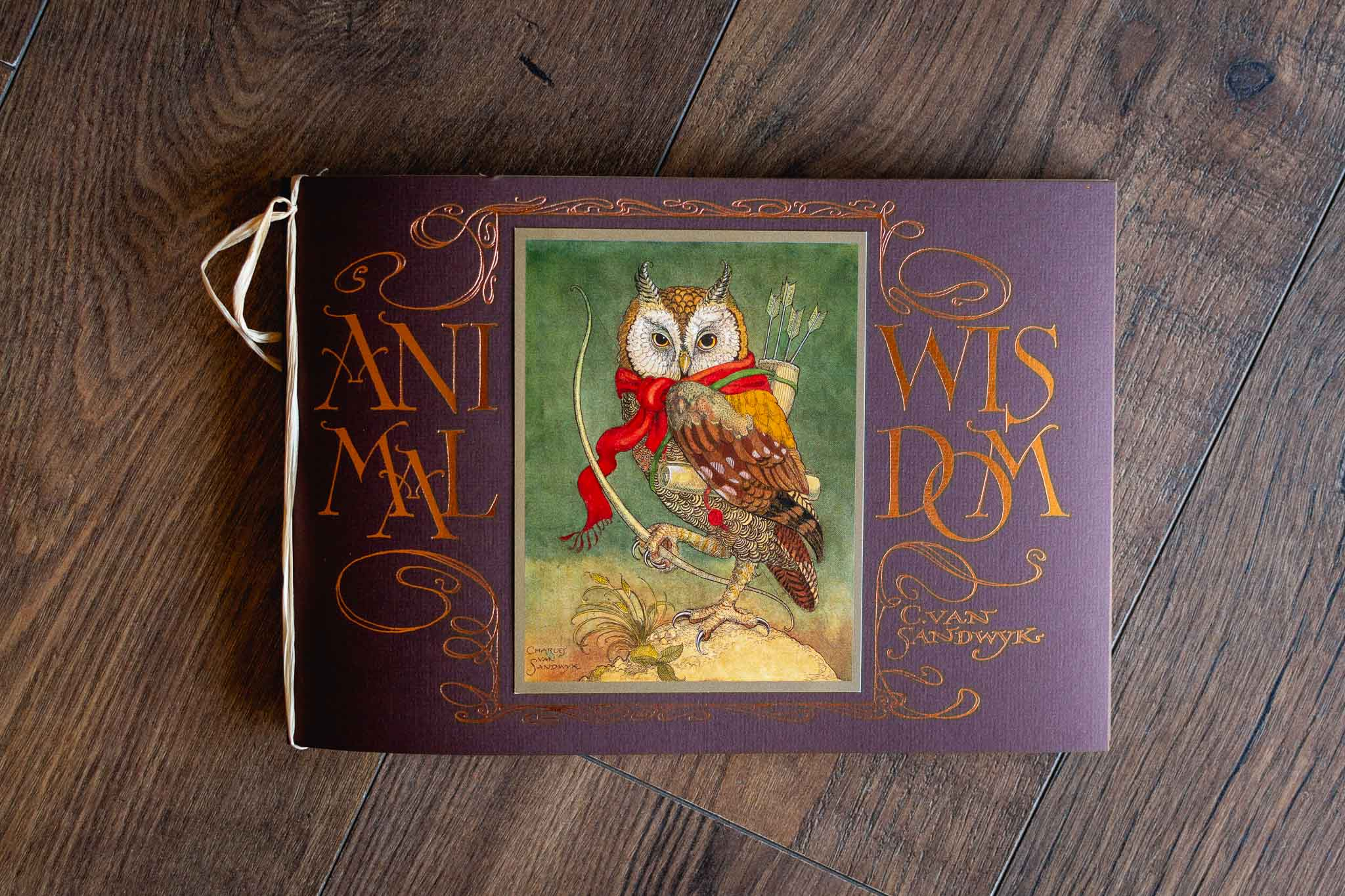 Animal Wisdom Book by Charles van Sandwyk