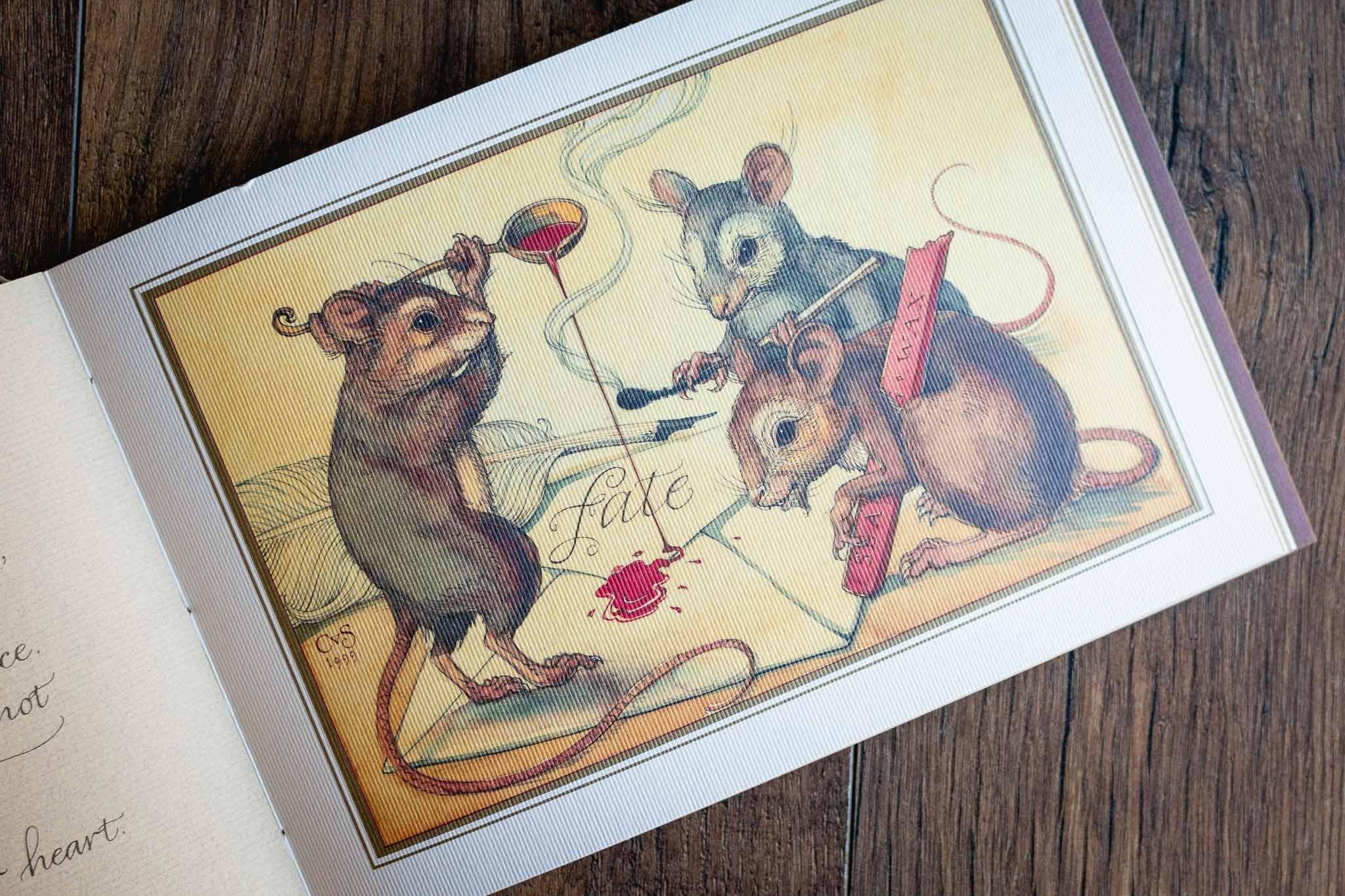 Animal Wisdom Fine Art Book by Charles Van Sandwyk