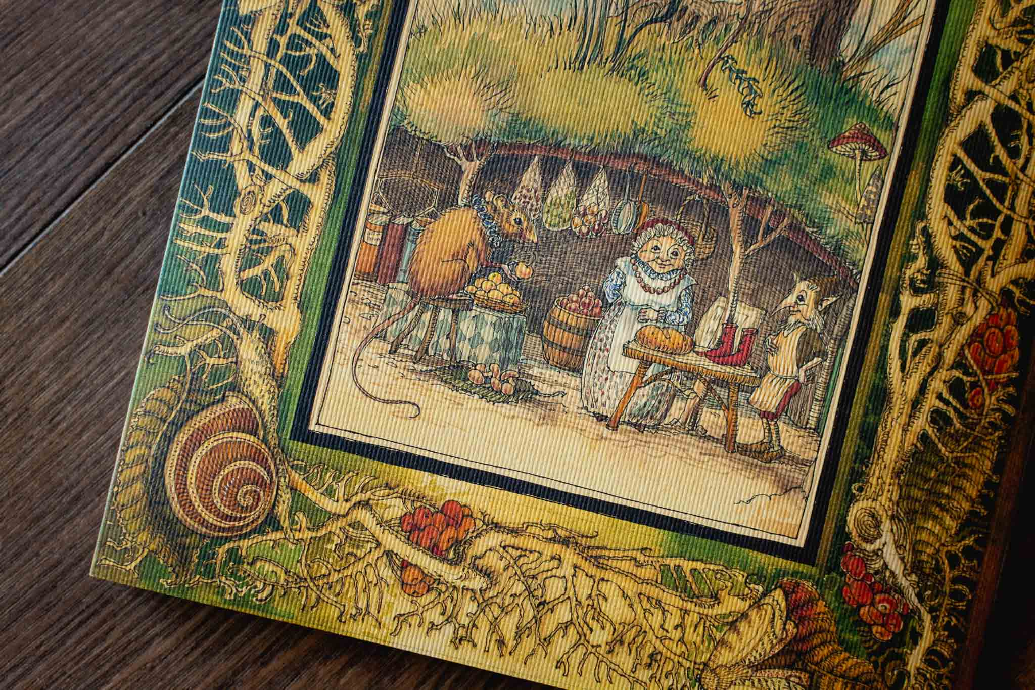The Fairy Market Fine Art Book by Charles Van Sandwyk