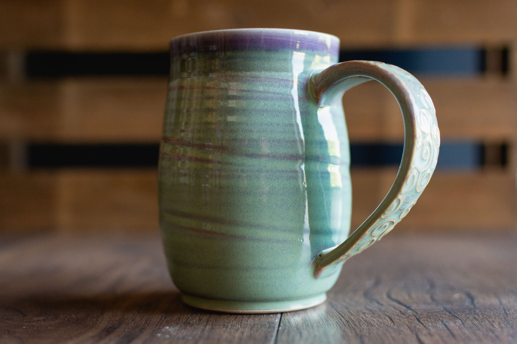 Ceramic Mug Handmade by Dish Pottery