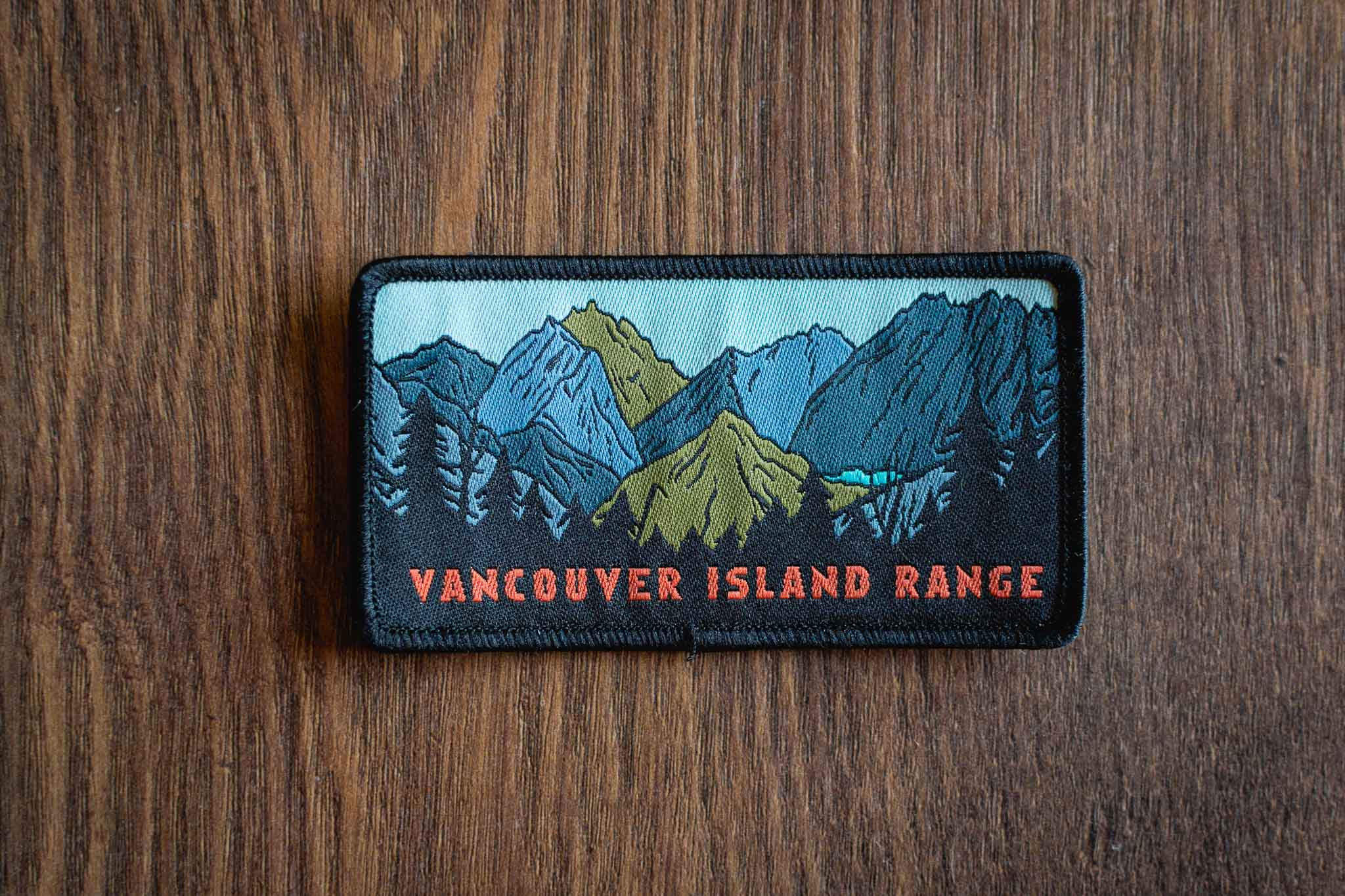 Island Range Patches and Stickers by Bough and Antler