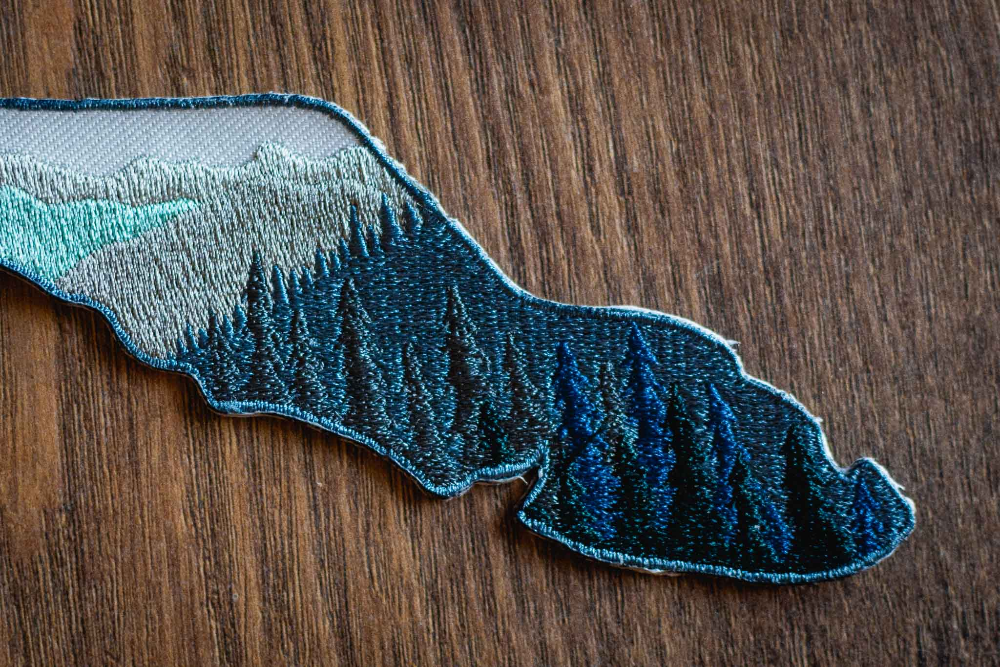 Island View Patches and Stickers by Bough and Antler