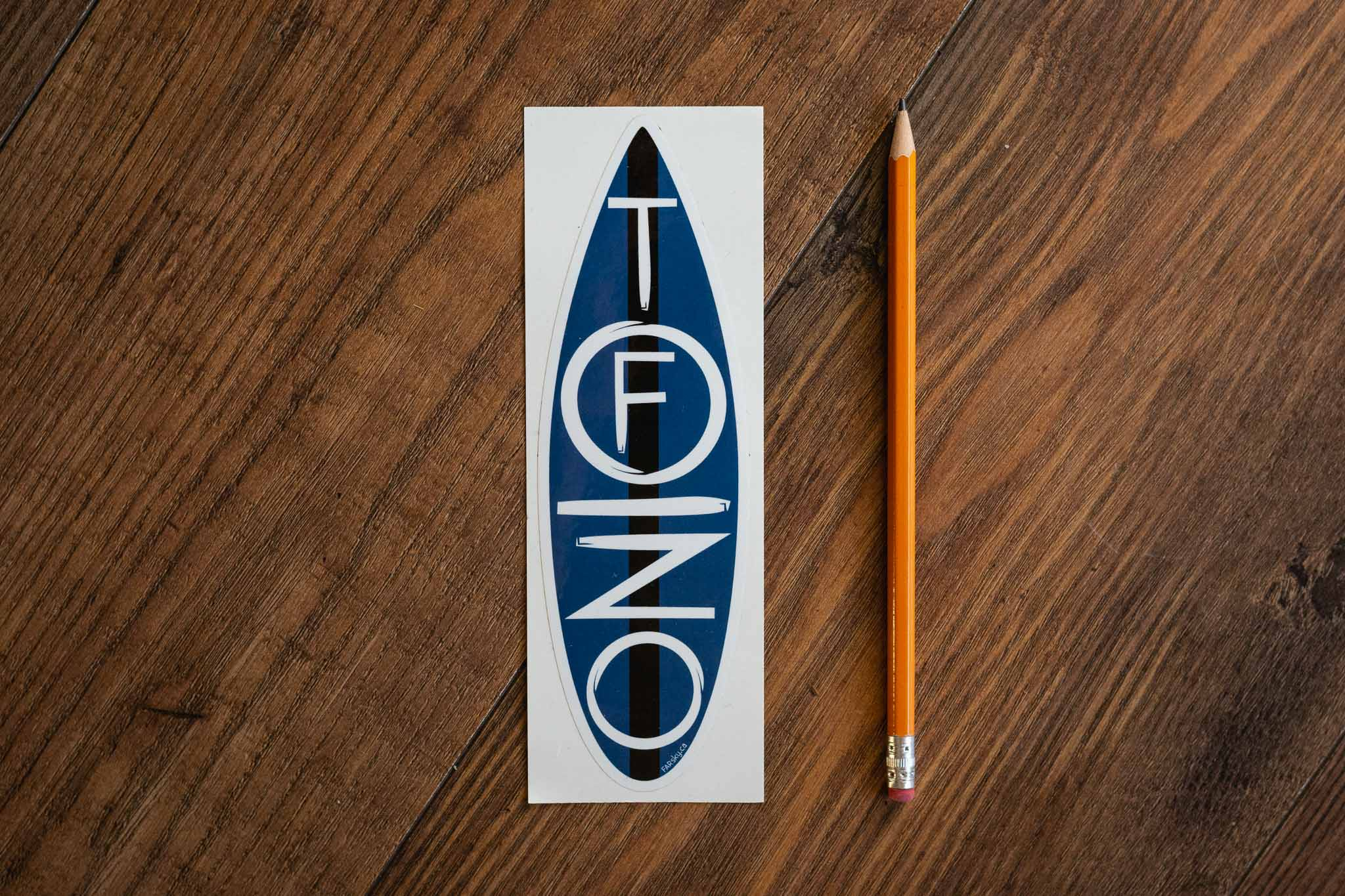 Tofino Surfboard Bumper Sticker