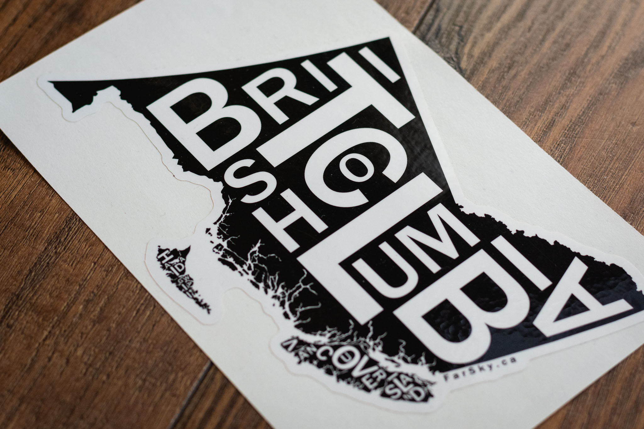 British Columbia Bumper Sticker