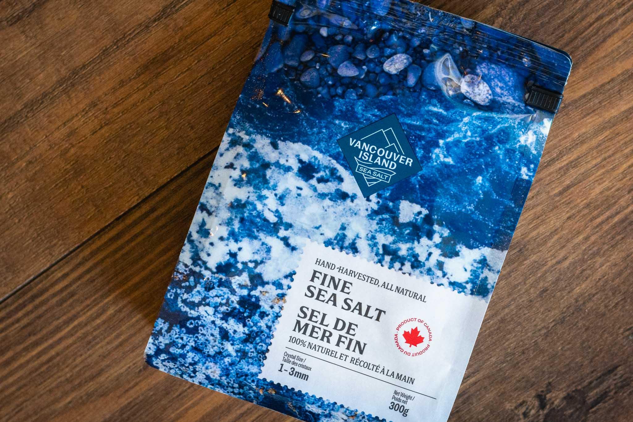 Fine Sea Salt by Vancouver Island Sea Salt