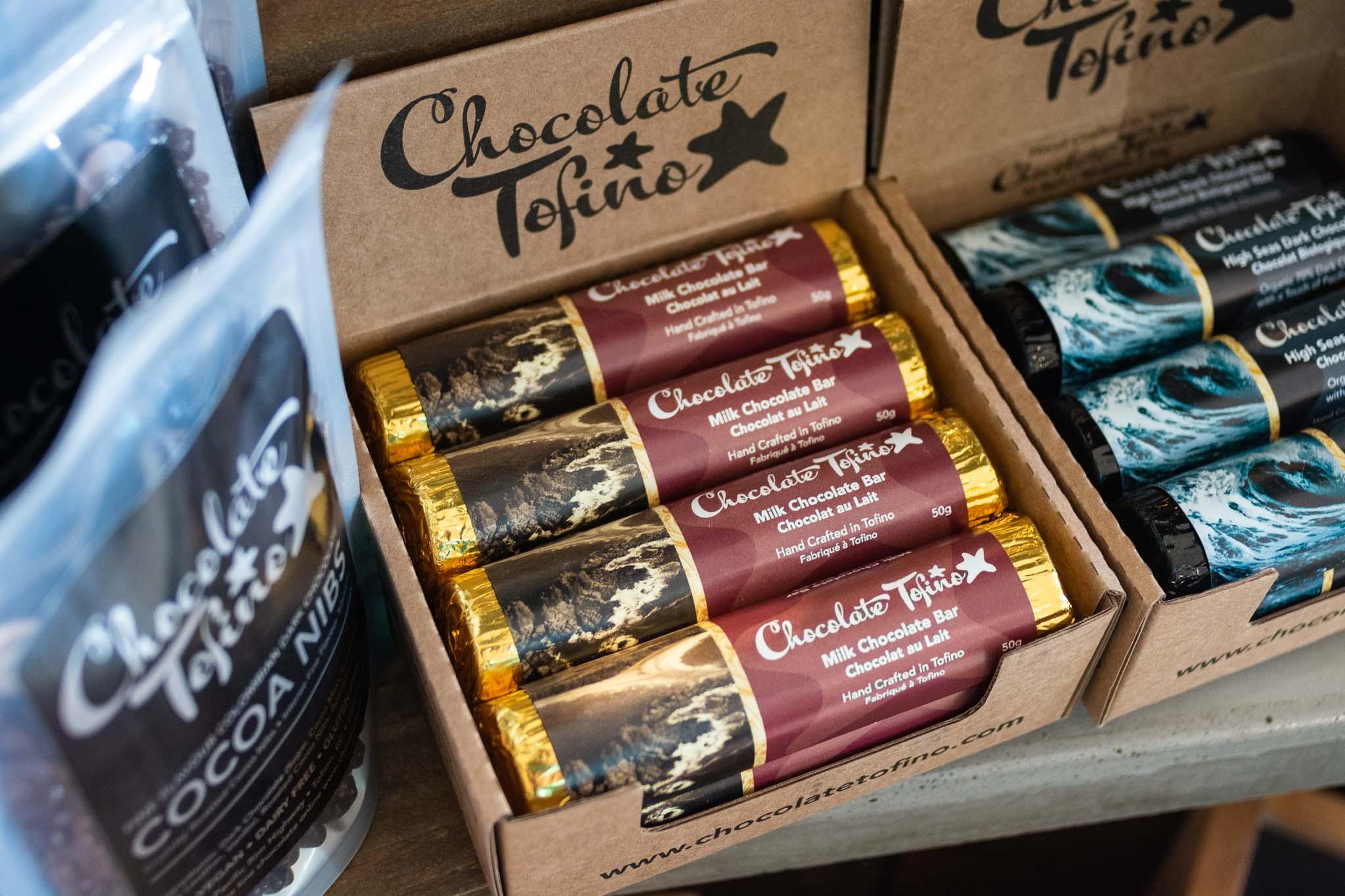 Milk Chocolate Bar by Chocolate Tofino