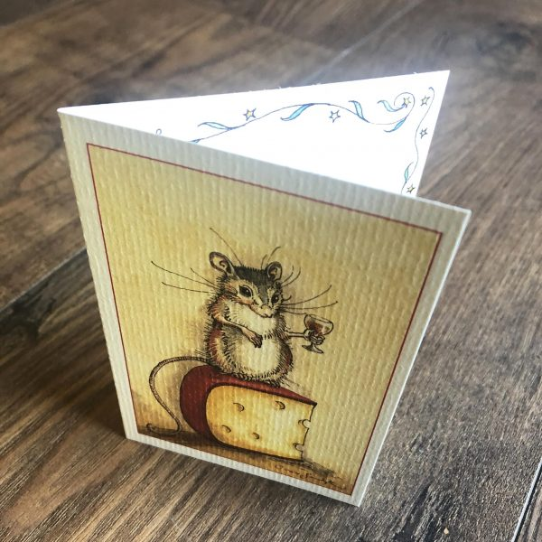 charles van sandwyk small mouse card