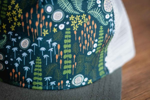 Forest Floor Trucker Hat by Bough and Antler