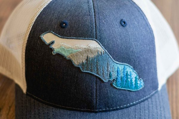 Island View Trucker Hat by Bough and Antler
