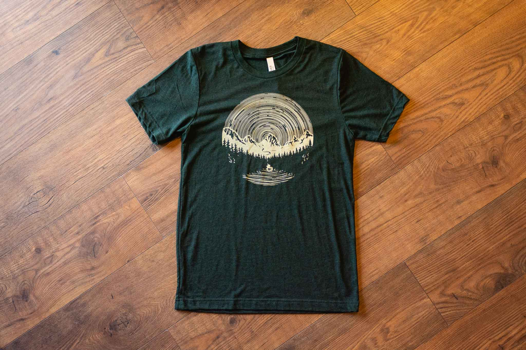 Star Trails Unisex Tee By Bough & Antler