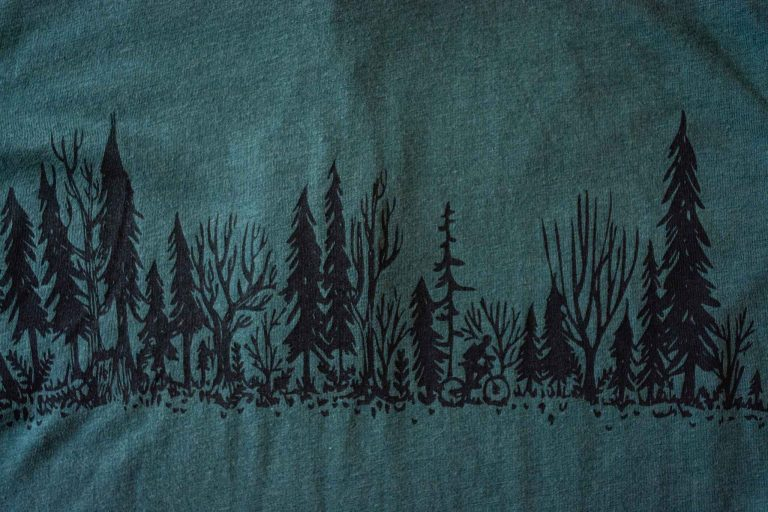 Forest Ride Unisex Tee Shirt by Bough and Antler