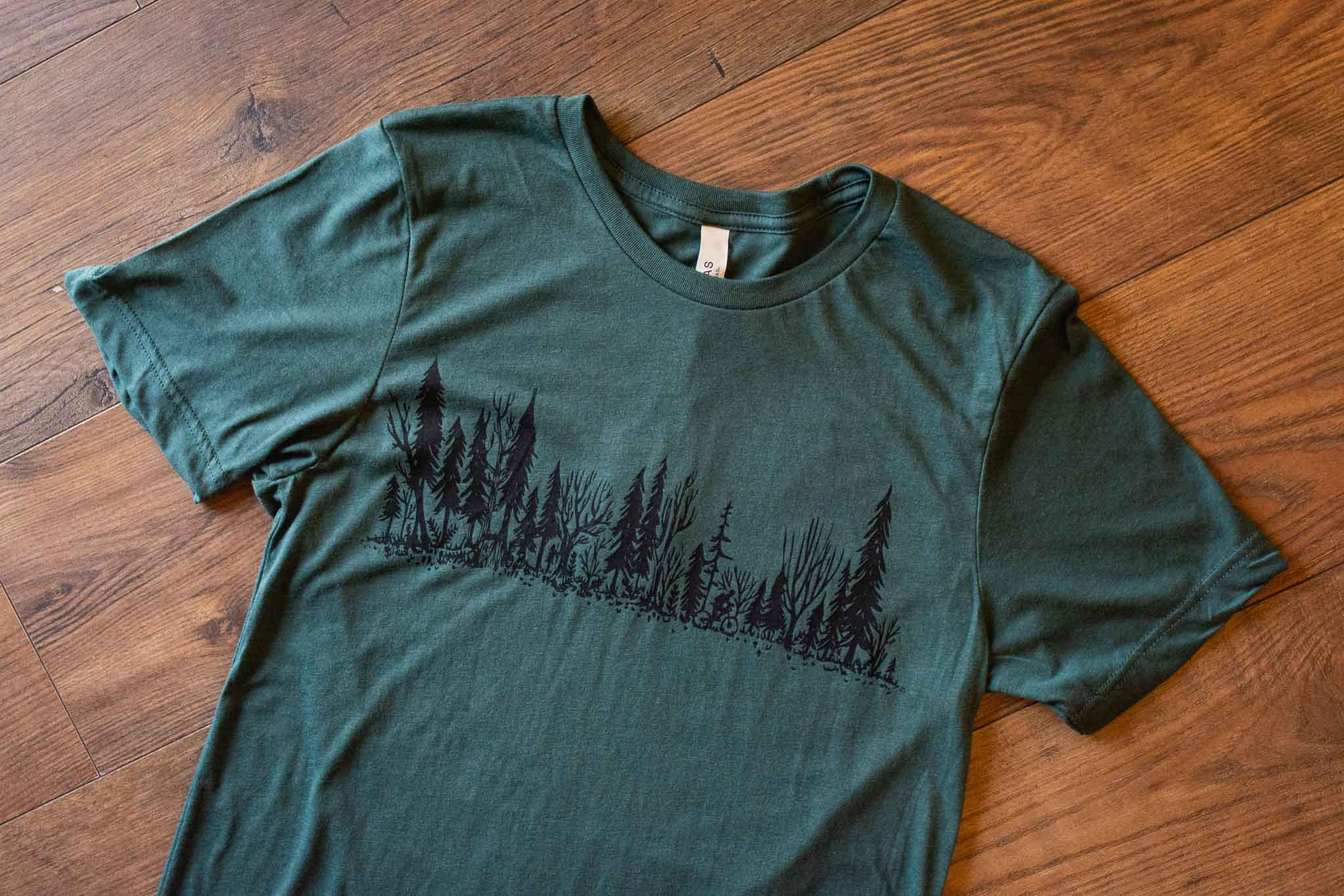 Forest Ride Unisex Tee By Bough & Antler