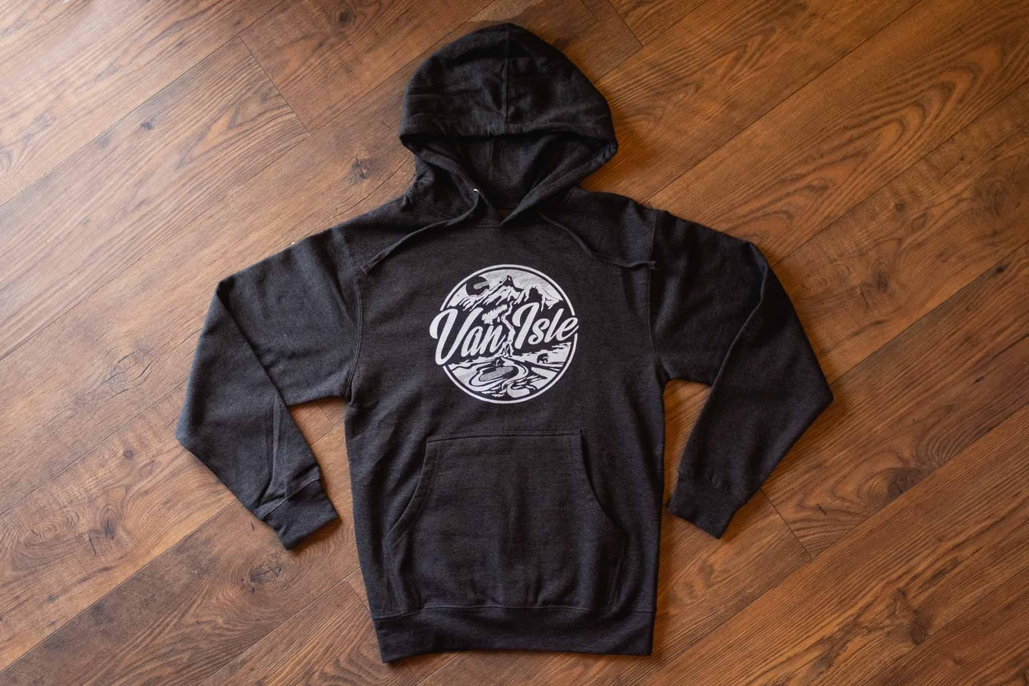 Van Isle Retro Unisex Hoodie By Bough & Antler