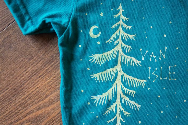 Starry Night Kids Tee by Bough and Antler