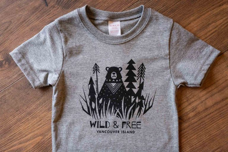 Wild and Free Kids Tee by Bough and Antler