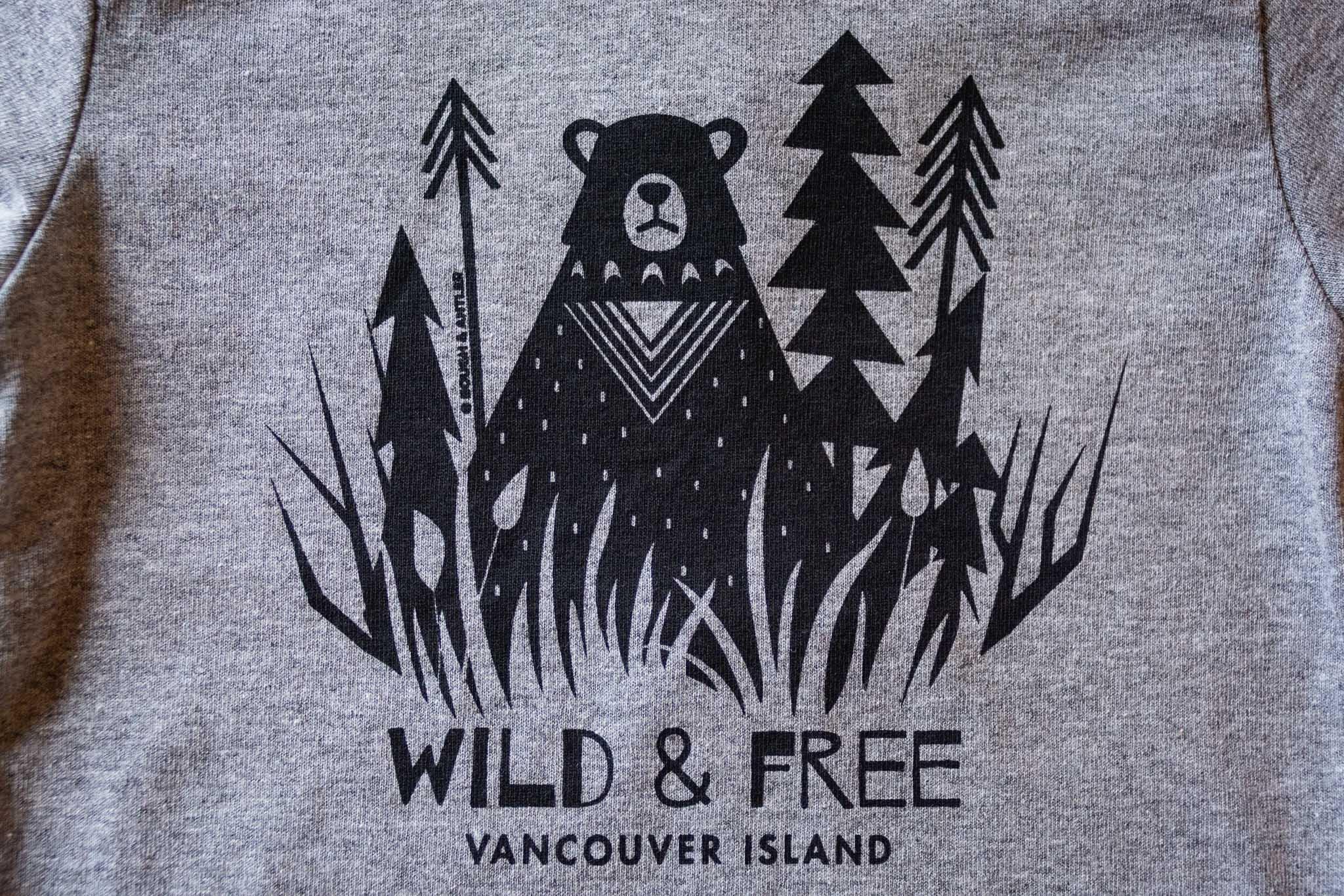 Wild & Free Kids Tee by Bough & Antler