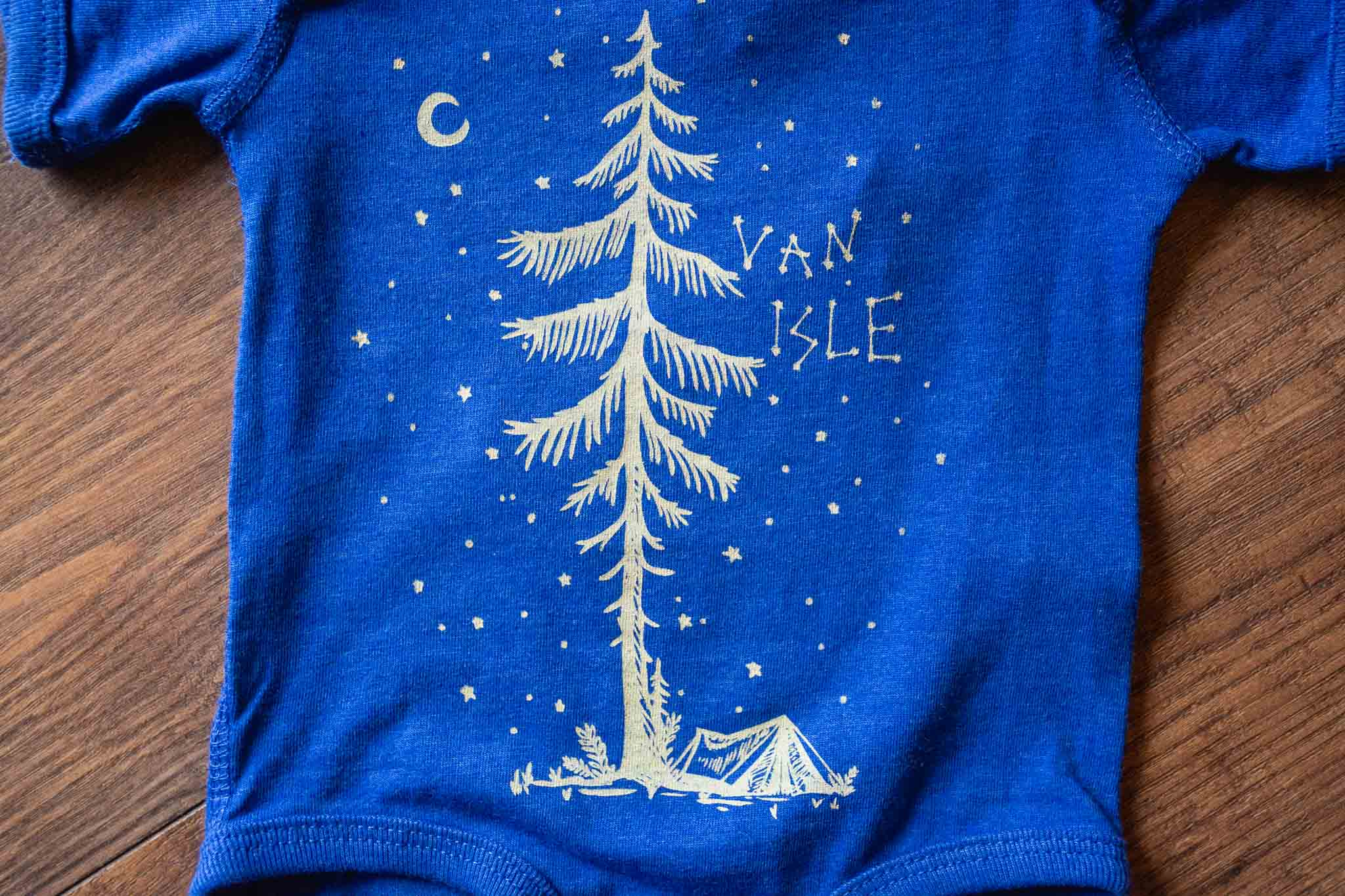 Starry Night Onesie by Bough and Antler