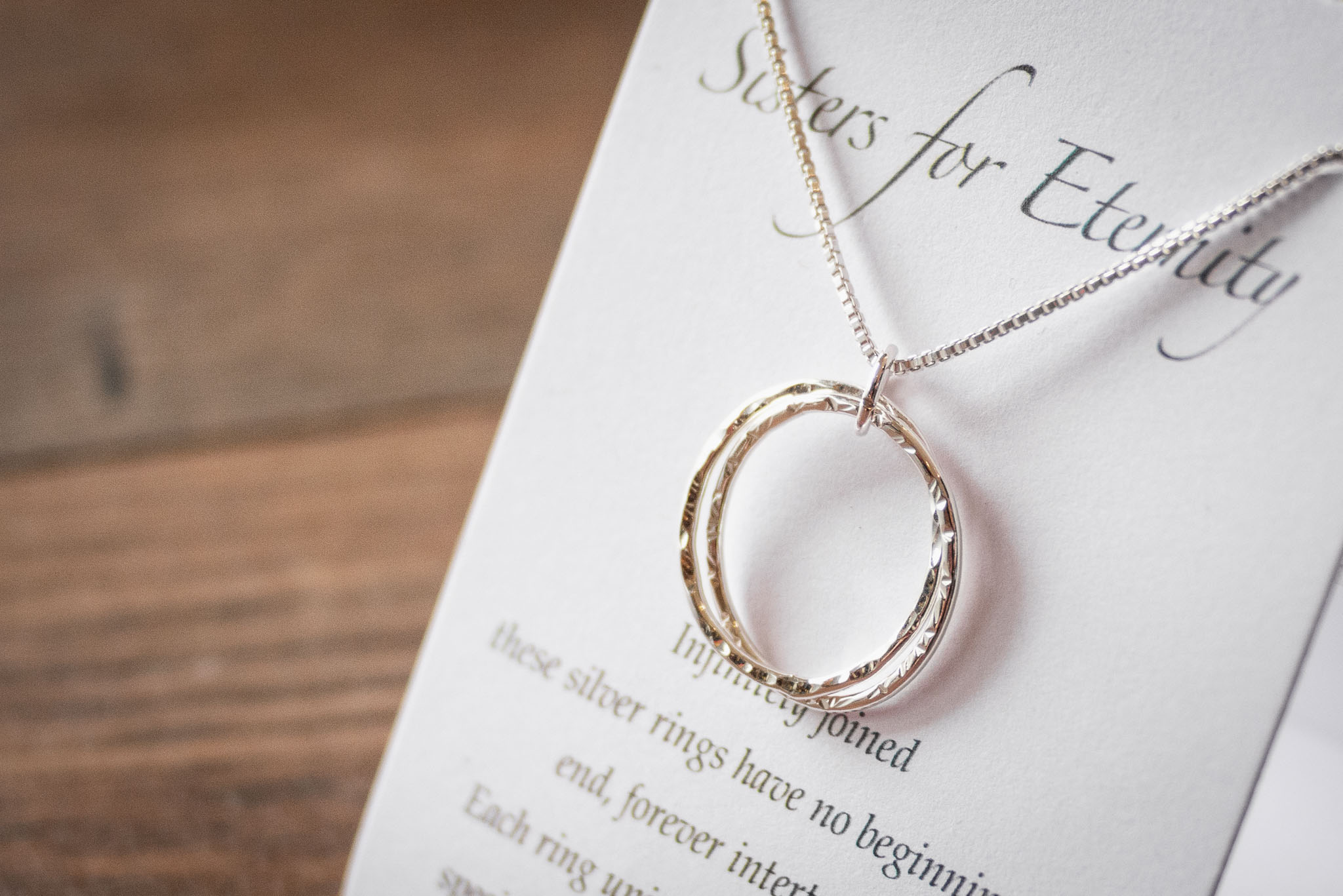 Silver Family Necklaces by Elements Gallery