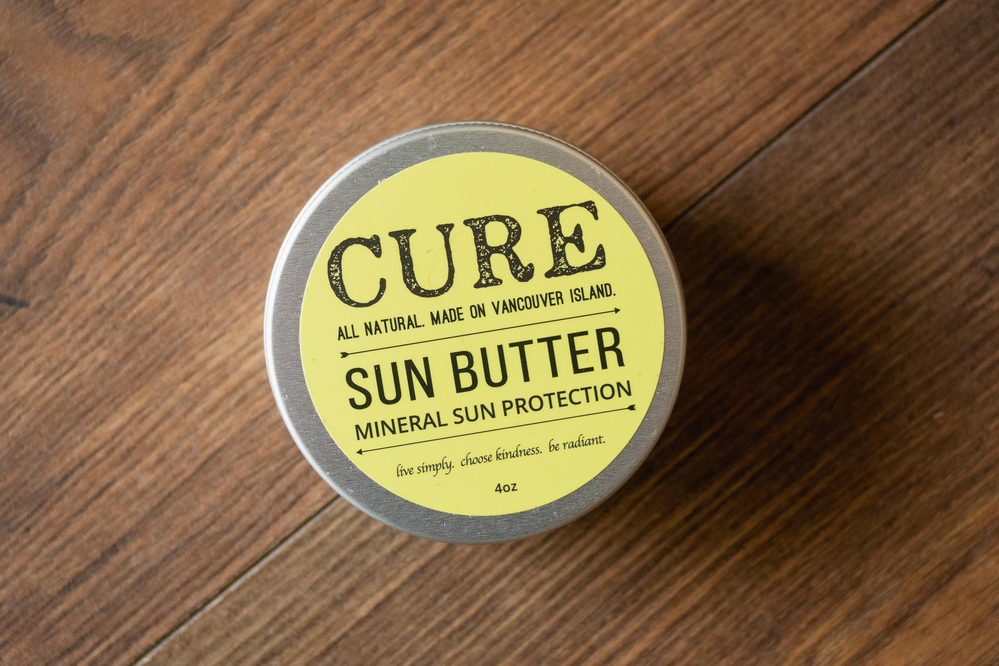 Sun Butter Mineral Sun Protection by Cure Soaps