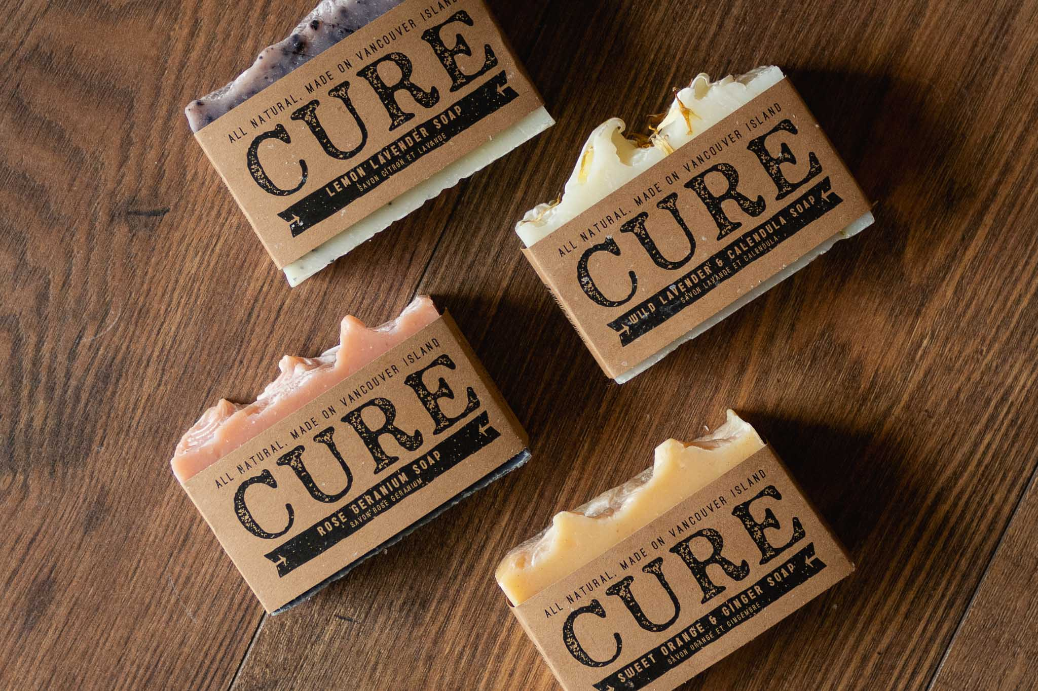 Soap Bar by Cure Soaps