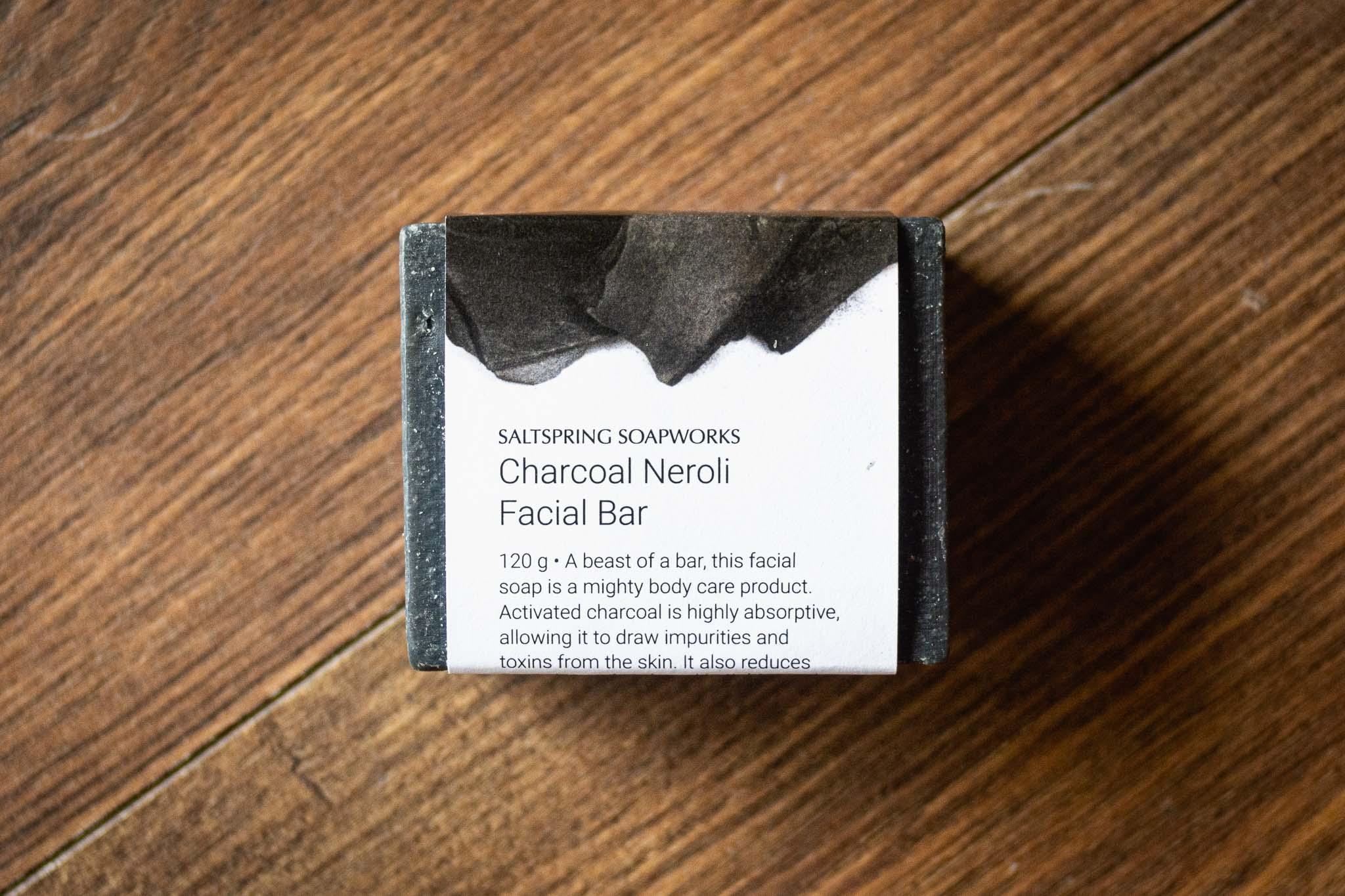 Charcoal Neroli Facial Bar by Saltspring Soapworks