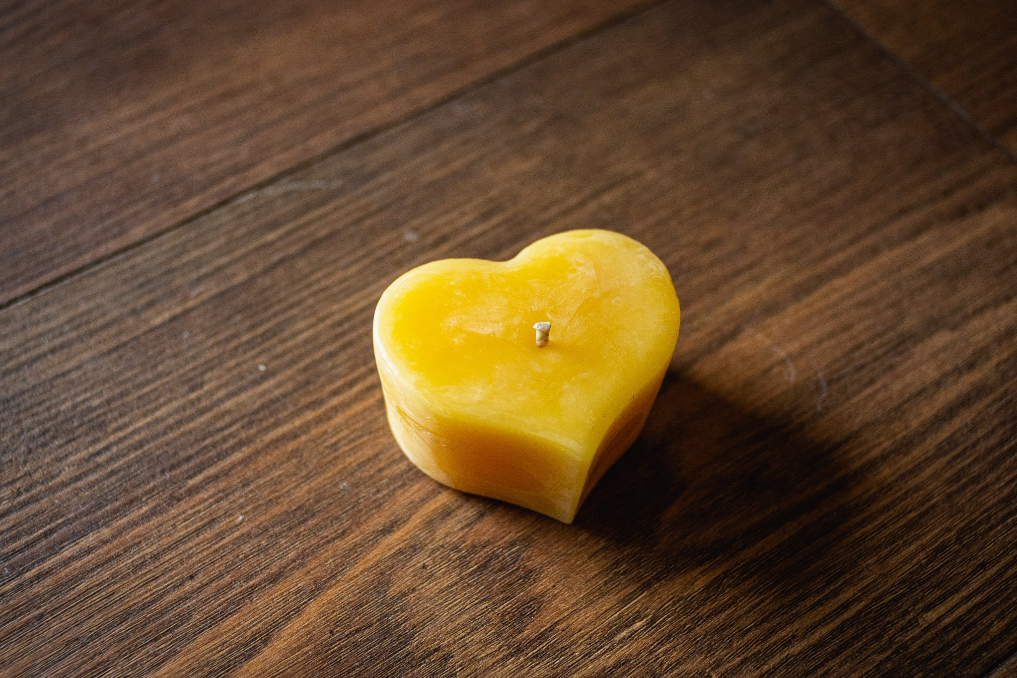 Sweetheart Candle By Bees Wax Works