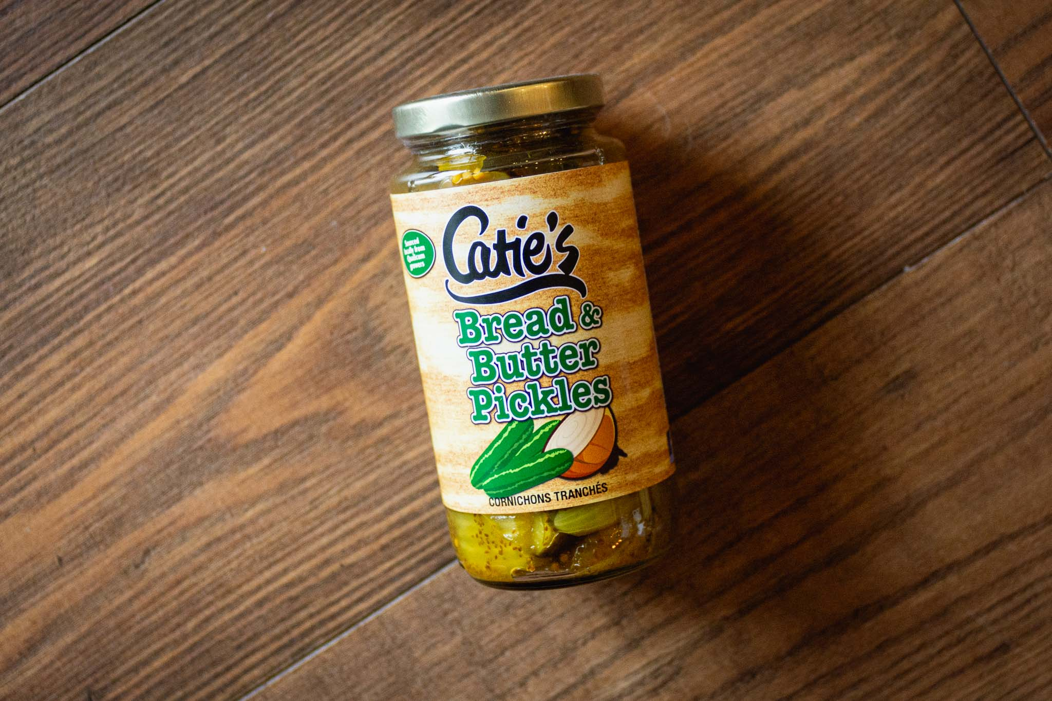 Bread & Butter Pickles by Catie's Preserves
