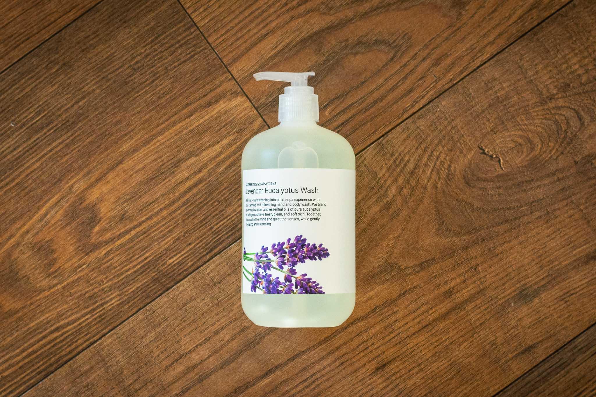 Lavender Eucalyptus Wash by Saltspring Soapworks