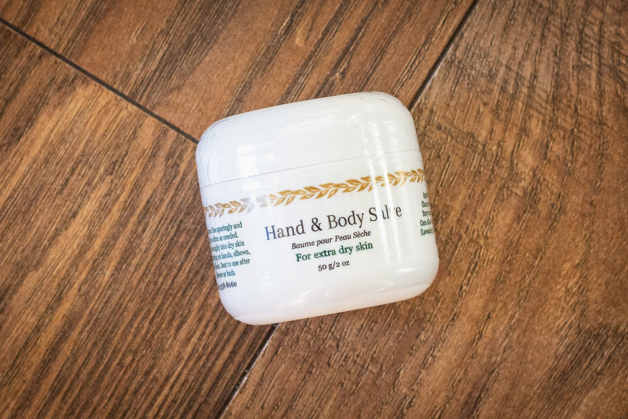 Hand & Body Salve for Extra Dry Skin by Cascadia Skincare
