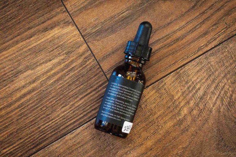 Cedar Eucalyptus Beard Oil by Saltspring Soapworks