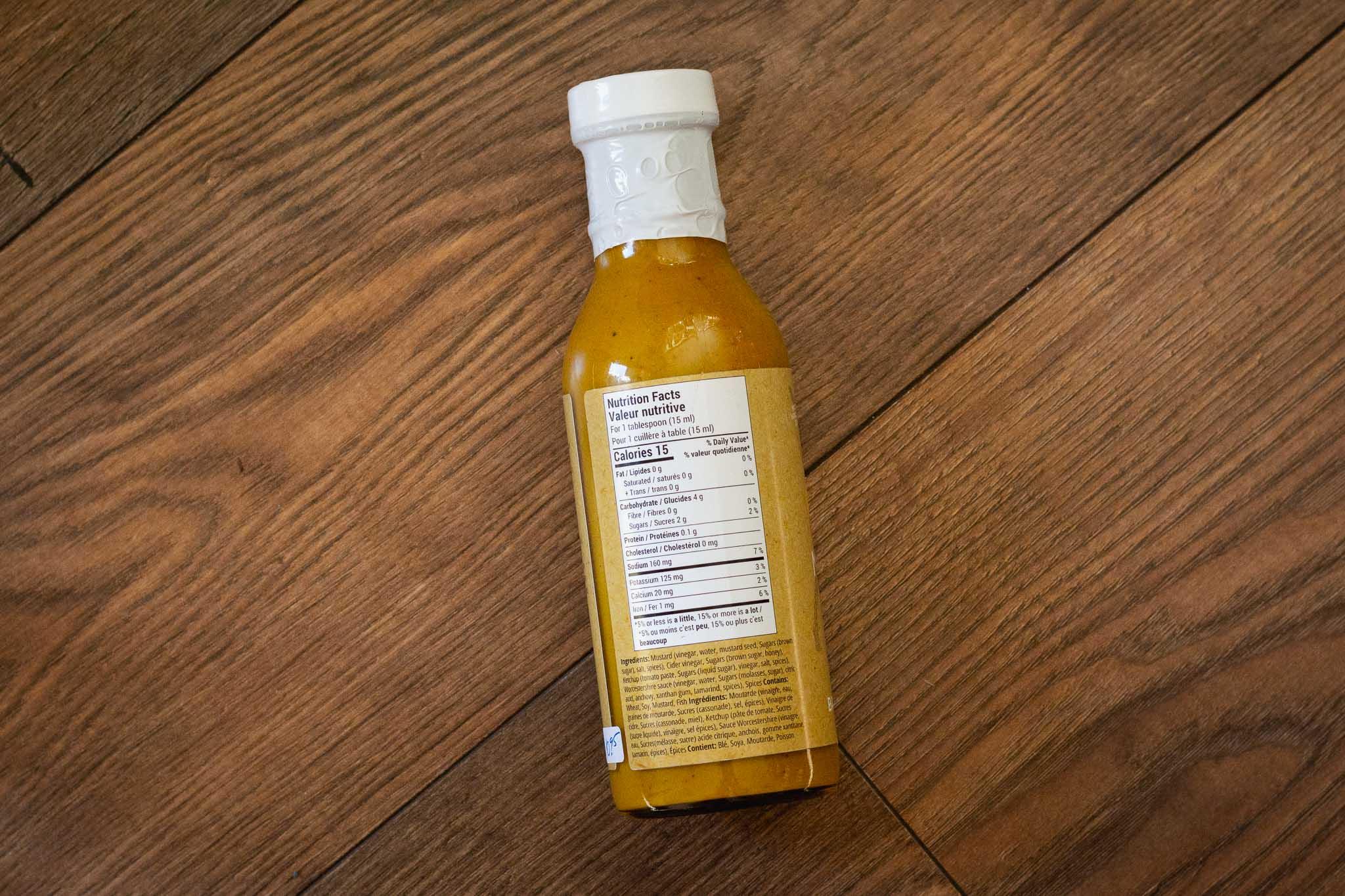 Artisan BBQ Sauce by Yellow Deer Mustard