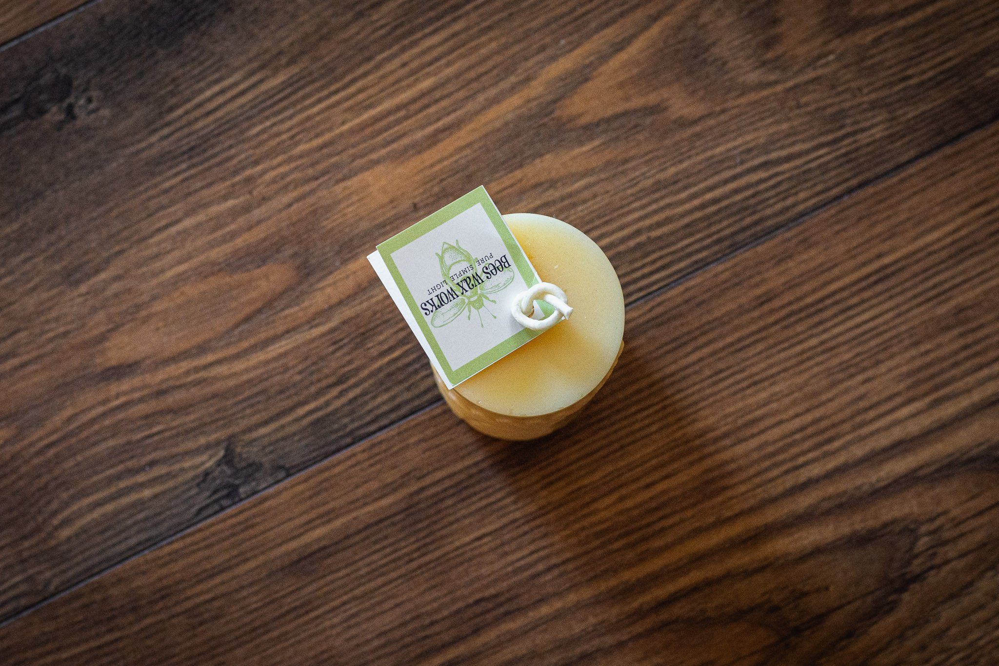 Simple Fern Candle By Bees Wax Works