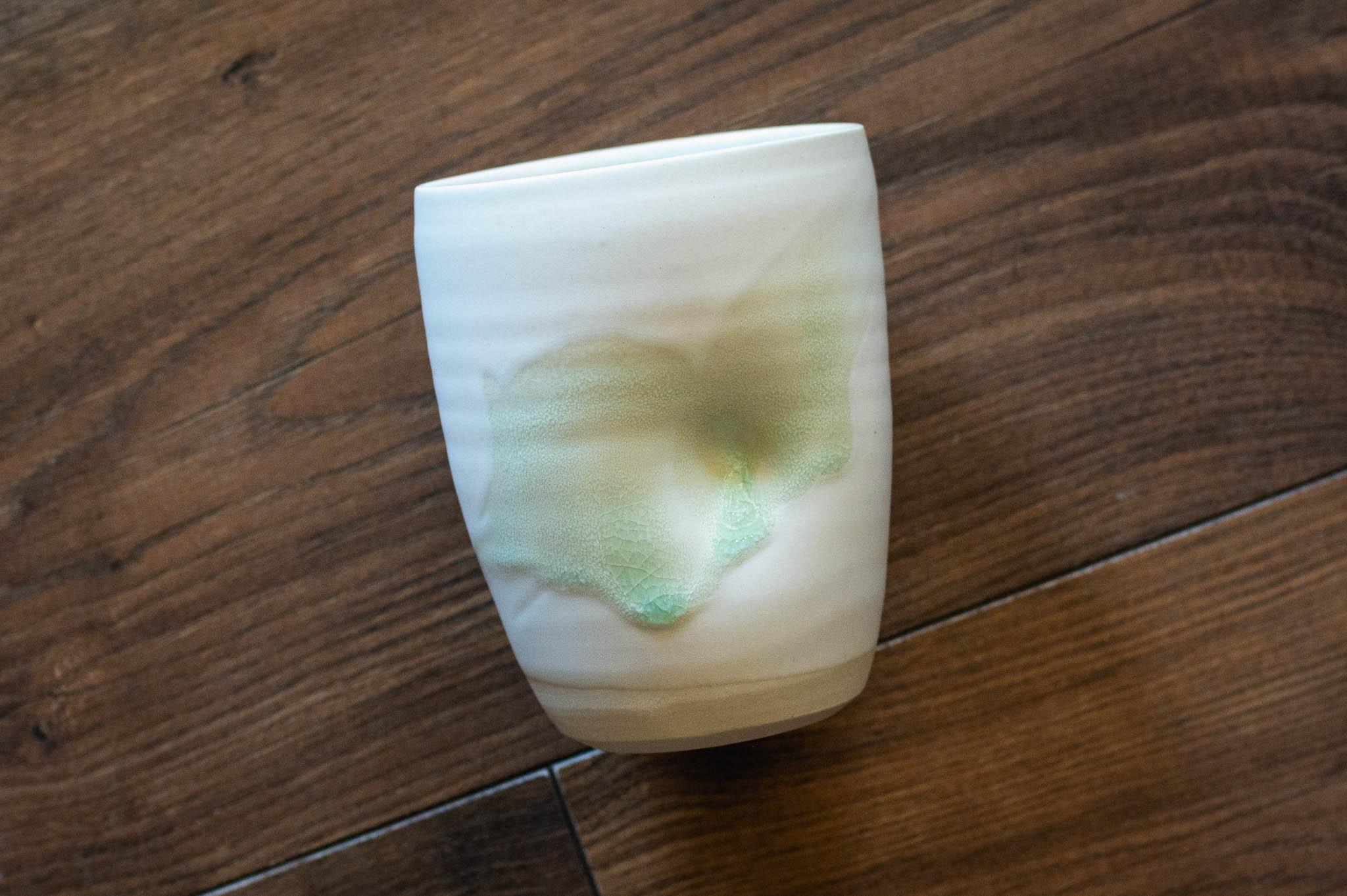 Dented Yunomi Tumbler by Kay Ceramics