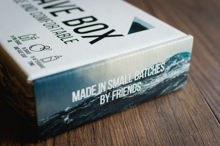 Shave Box by Peregrine Supply Co