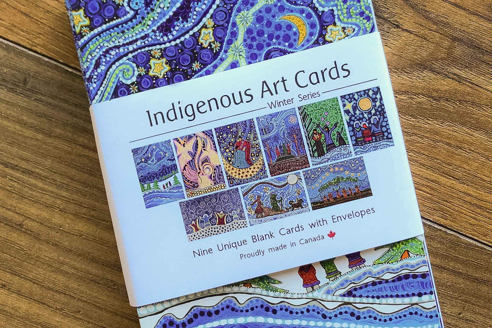 Winter Series Indigenous Art Cards by Strong Nations