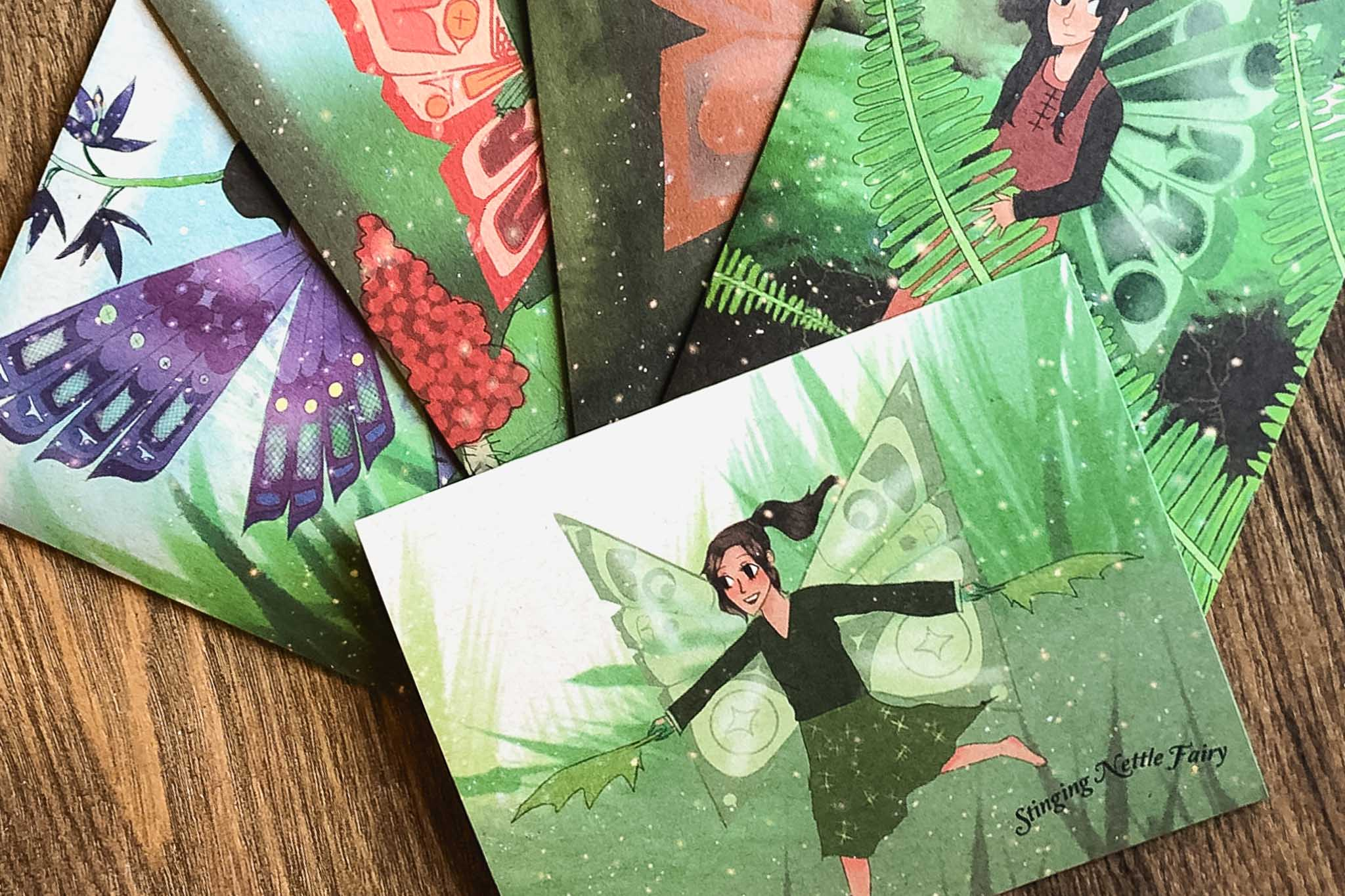 Indigenous Plant Fairy Cards by Strong Nations