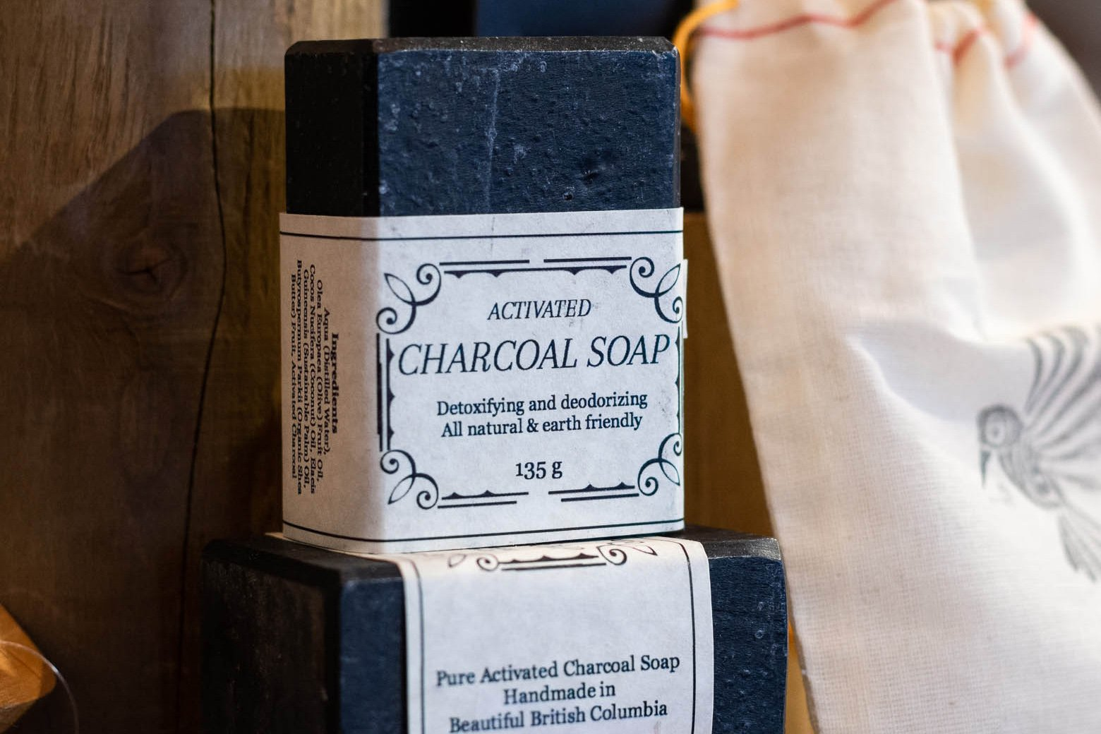 Activated Charcoal Soap Soap Bar by Cascadia Skincare