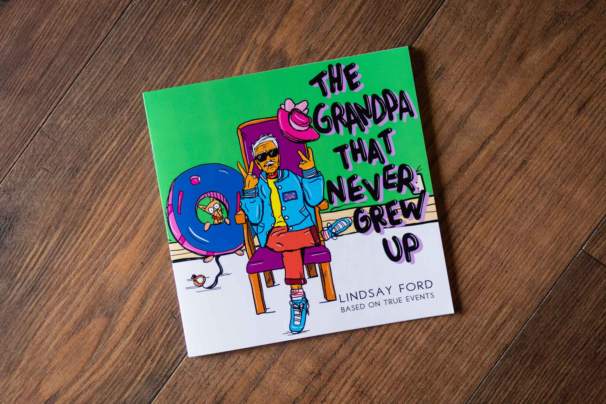 The Grandpa That Never Grew Up Book by Lindsay Ford