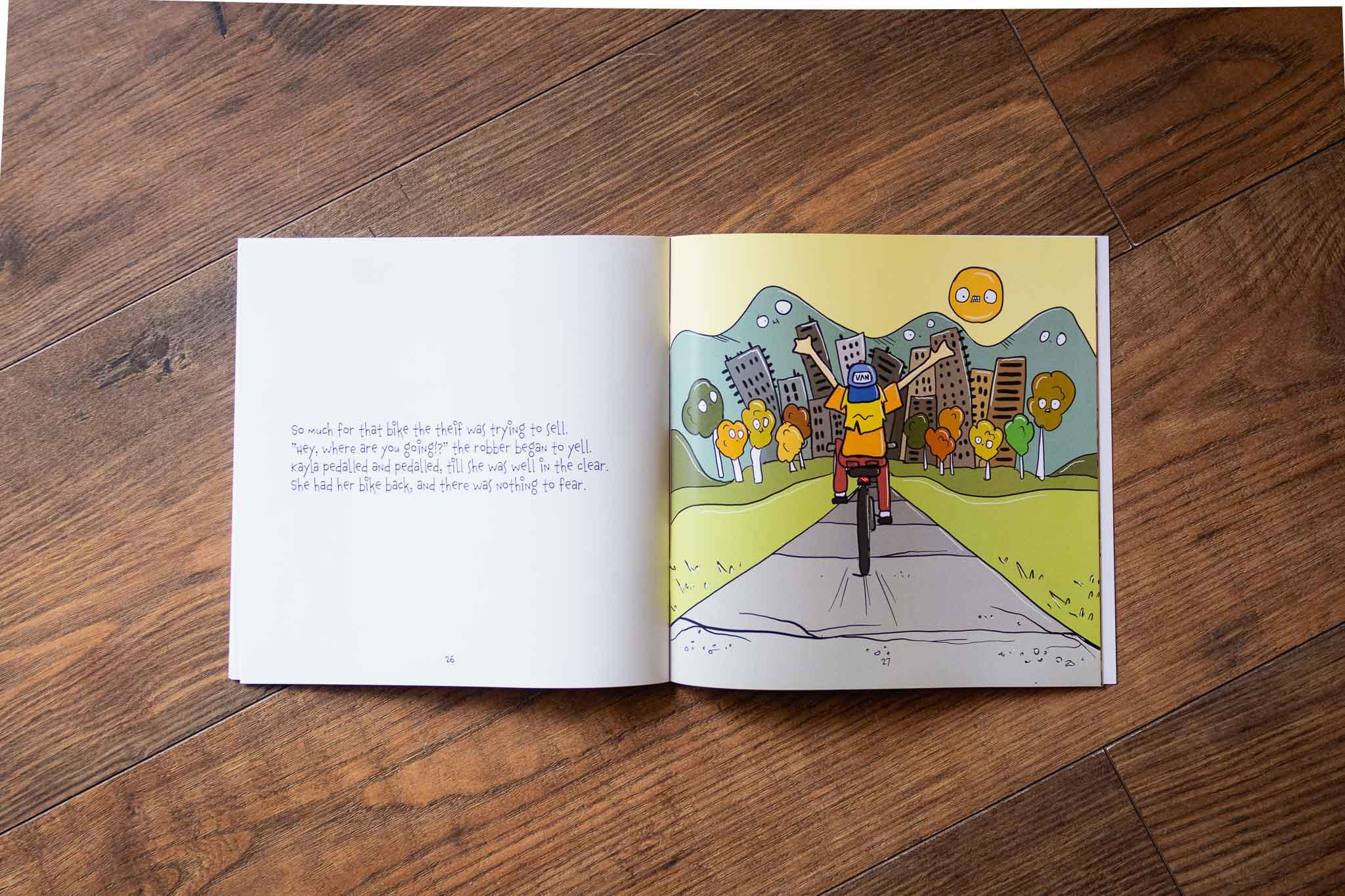 The Big Bike Bamboozle Book by Lindsay Ford