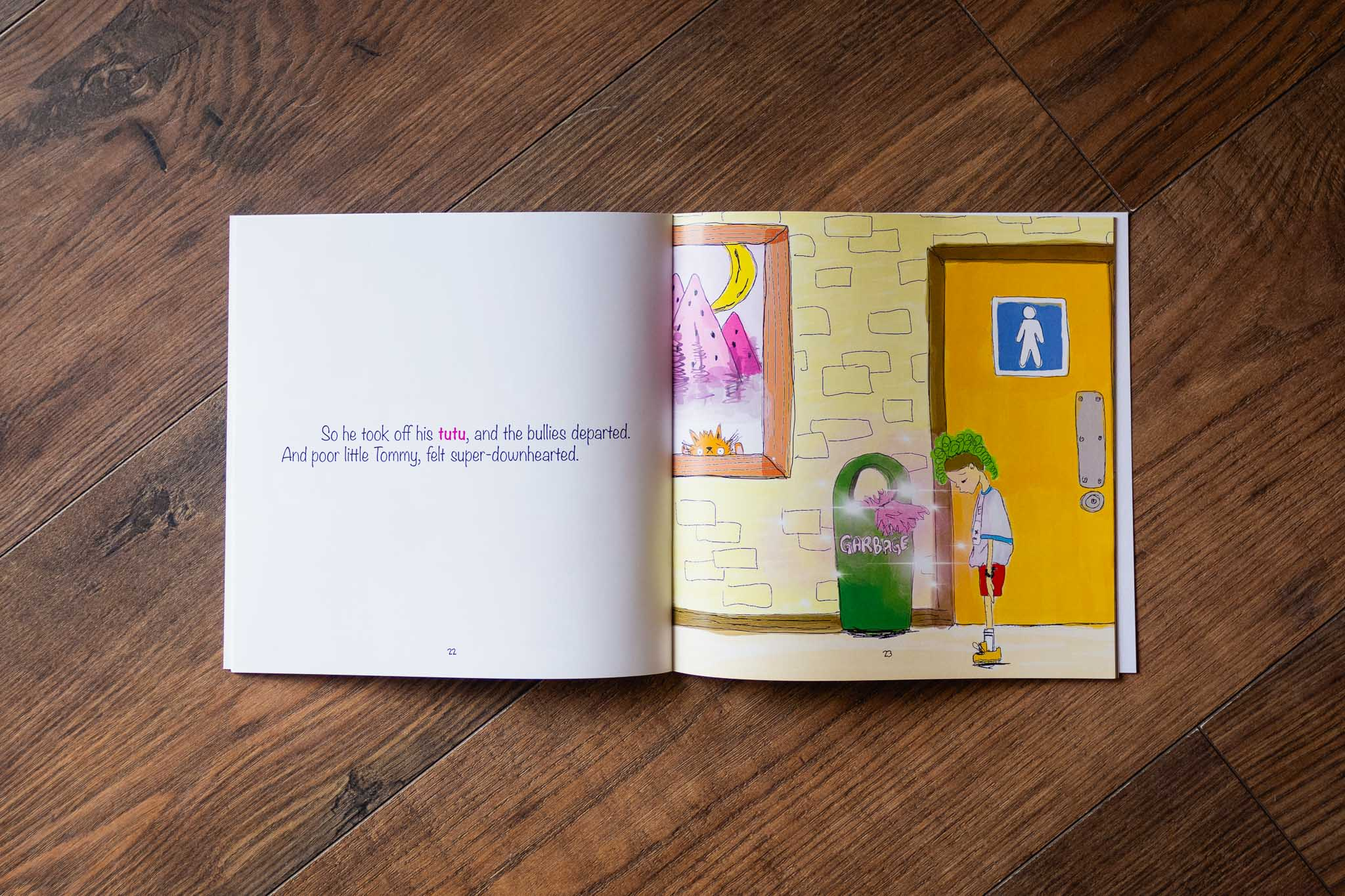Tommy Tutu Book by Lindsay Ford